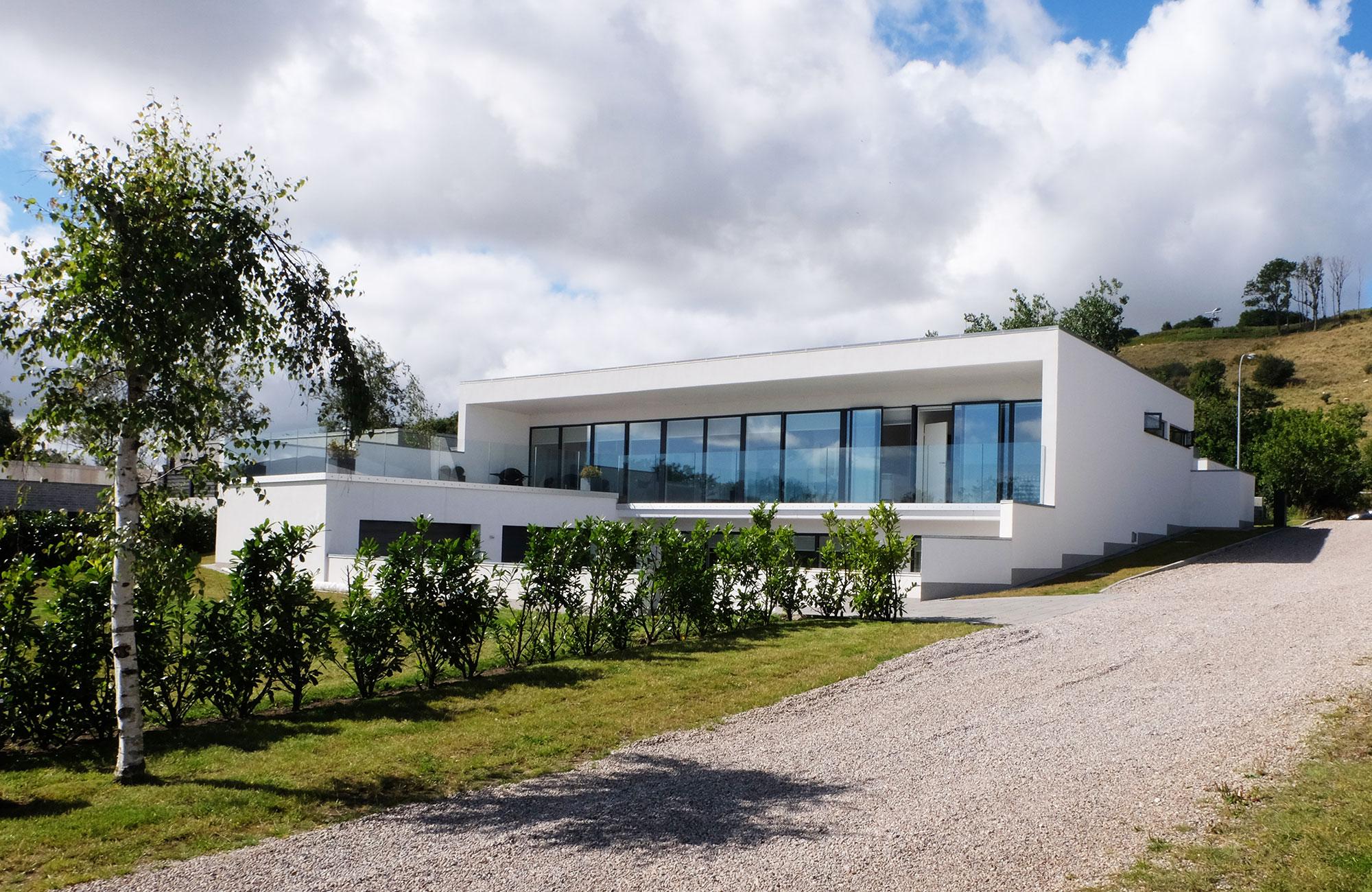 Villa ved den nordjyske østkyst