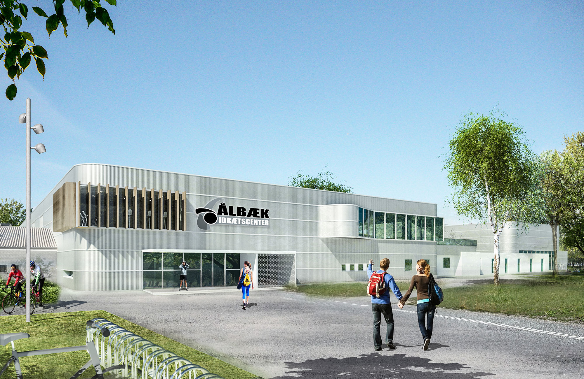 Aalbæk Idrætscenter – udvidelse