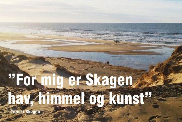 Turismepotentialeplan for Skagen
