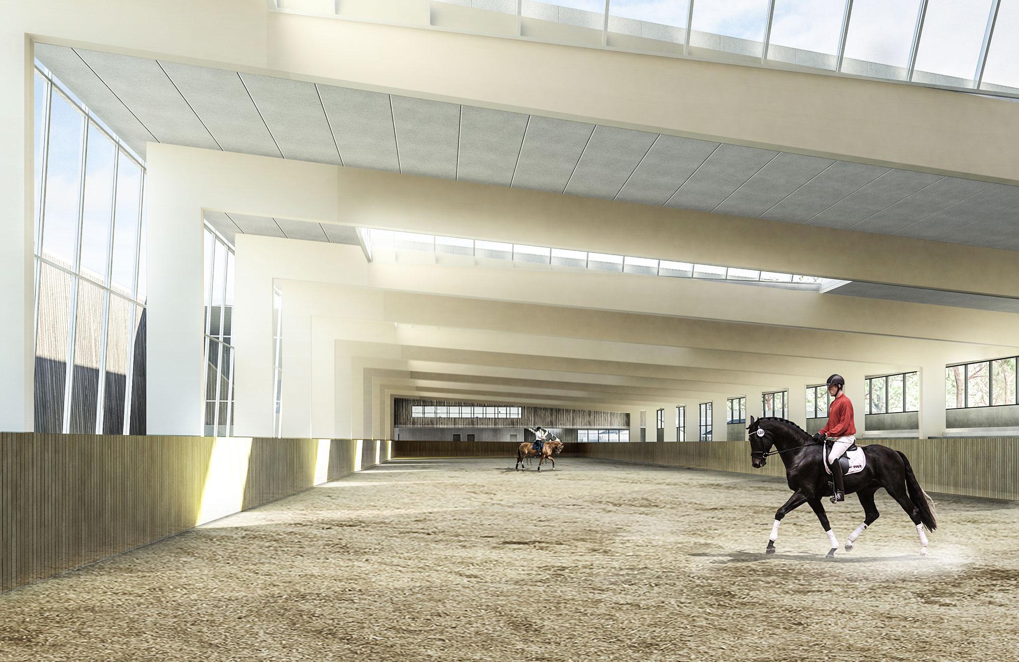 Rugballegård – nyt ridecenter i Horsens